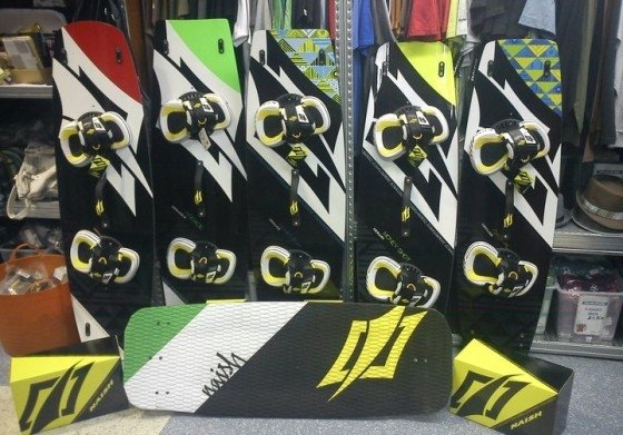 naish freestyle boards 2012