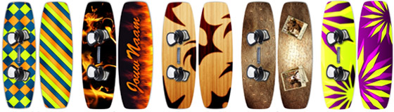 boarddesign custom kiteboards