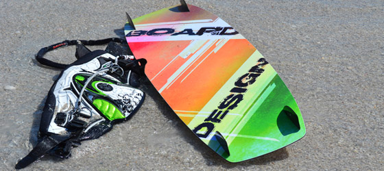 custom kiteboard