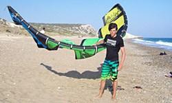 reisverslag cyprus kitesurfen