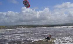 verloren kiteboard kwijt