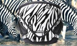 mystic artistic zebra harness