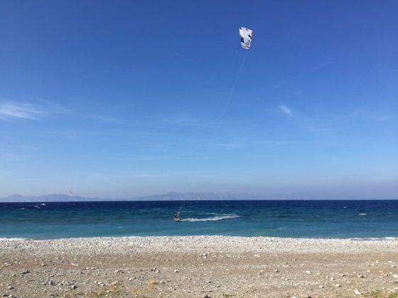 Ialyssos kitesurfen