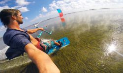 kiteboard flat water rondina
