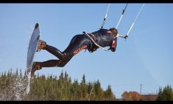kitesurfen canada herfst kiteboarden core mystic